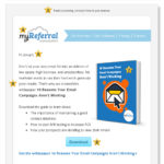 Email marketing (graphic: myReferralndex)