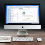 Social media marketing, Picture of iMac