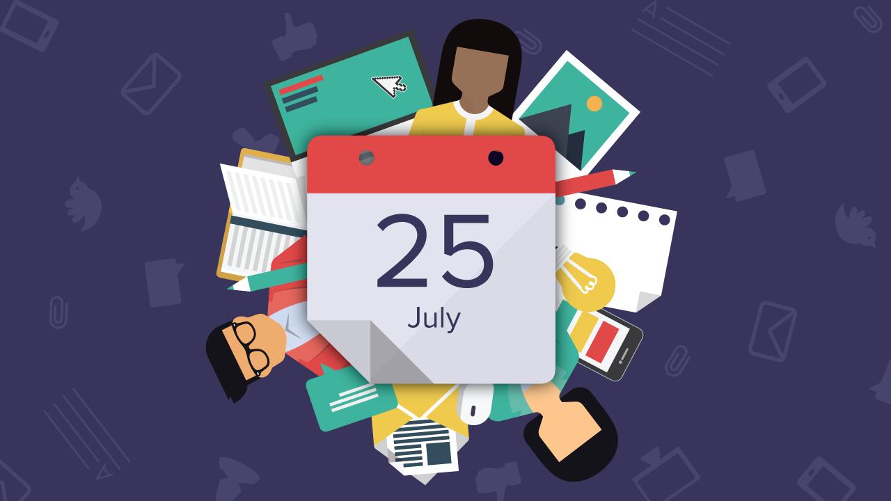 content marketing calendar (graphic)