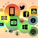 social media marketing (graphic)