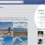 Facebook Hashtags (Screenshot: spotlight on trending hashtags)